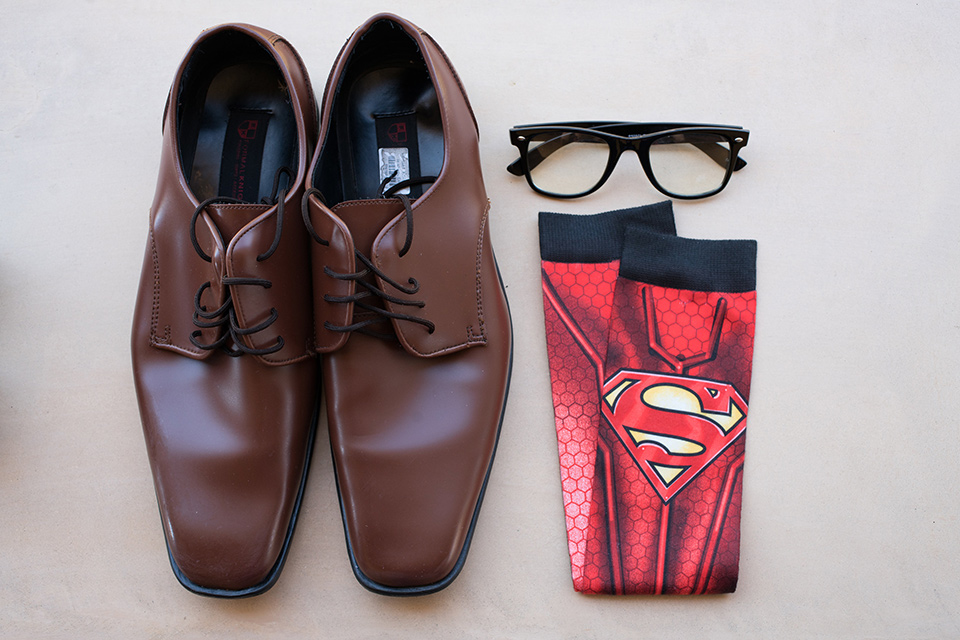 wonder-woman-meets-superman-mens-accessories-brown-shoes-re-socks-with-superman-embellishments-on-them-eye-glasses