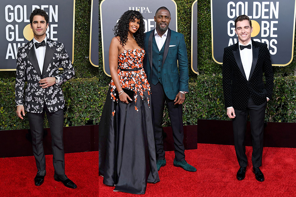 patterened-textured-jackets-golden-globes-2019