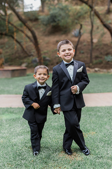 los-willows-wedding-little-kids-in-traditional-tuxedos
