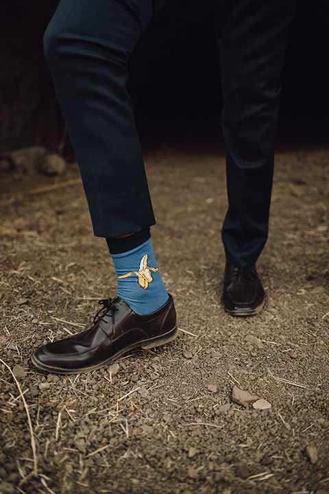 bronson-caves-elopement-shoot-banana-socks