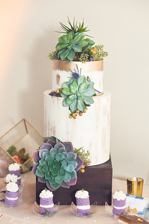 Grand-Pacific-Palisades-three-tiered-cake-with-succulent-details
