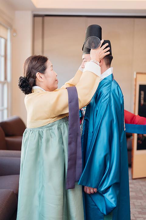 occidental-college-wedding-groom-cultural-ceremony