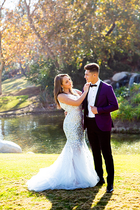 light-blue-dress-with-purple-tuxedo