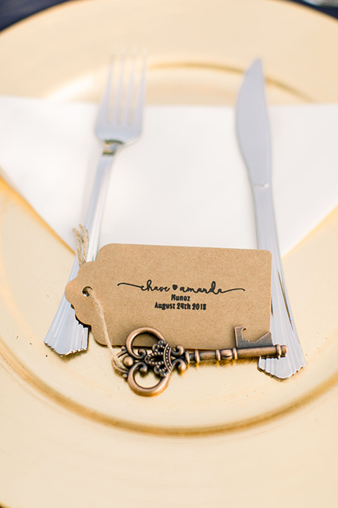 Burgundy-and-Blue-wedding-flatware-placesetting