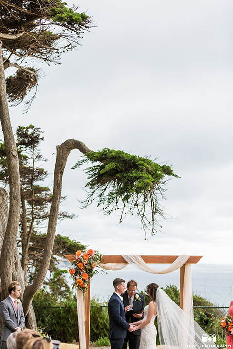 Martin Johnson House wedding ceremony in La Jolla