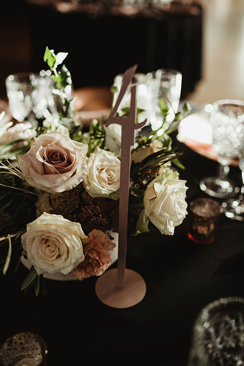 The-Ebell-In-Long-Beach-Wedding-table-florals-in-soft-pinks-and-cream-colors