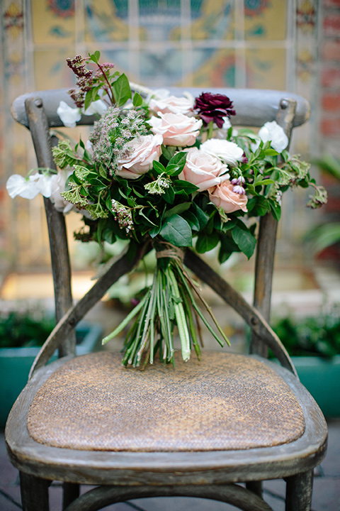 Carondelet-House-wedding-florals-on-chair