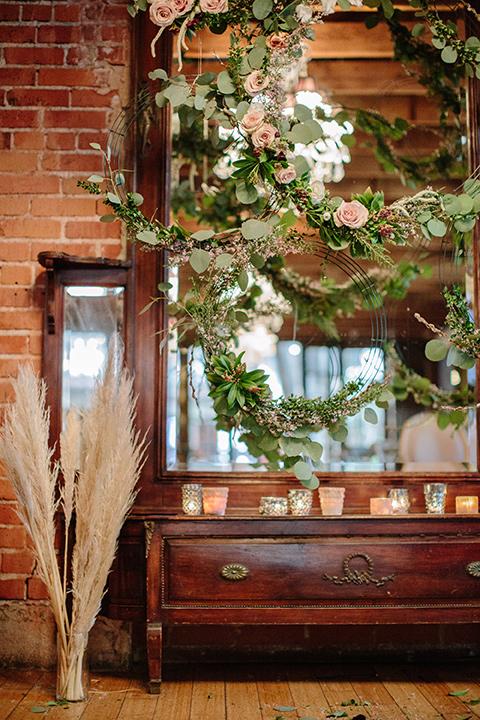 Carondelet-House-wedding-hanging-floral-design