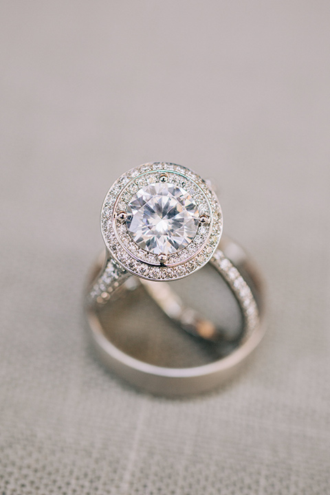 engagement rings for the bride and the groom