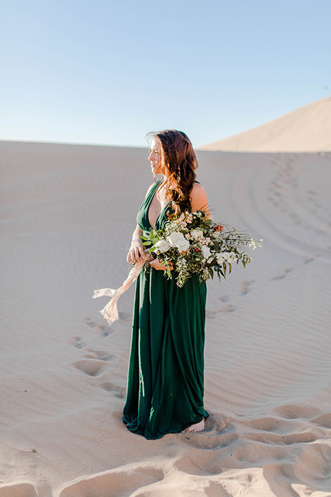 Glamis-Engagement-Shoot-bride-alone