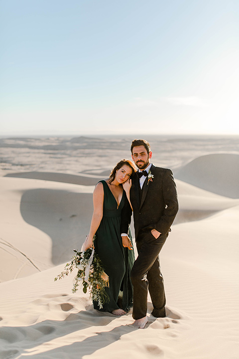 Glamis-Engagement-Shoot-bride-and-groom-facing-camera