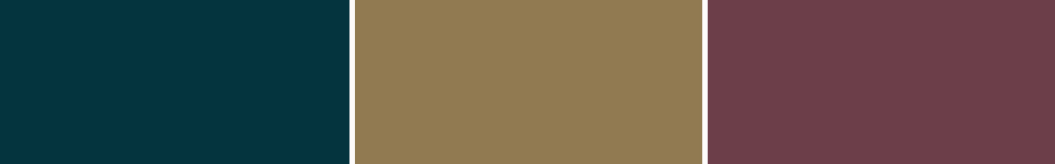 common colors for art deco theme including green gold and red