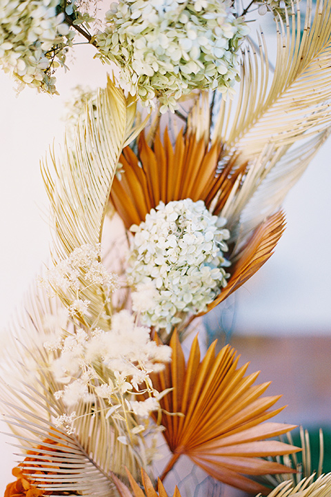 pampas grass and feathers for florals and decor