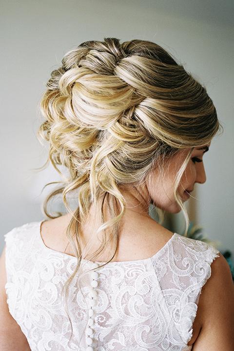 The-Inn-at-Laguna-Beach-bridal-hair-updo-with-a-woven-design