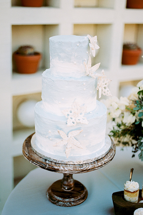 The-Inn-at-Laguna-Beach-cake-white-cake-with-white-flower-decor
