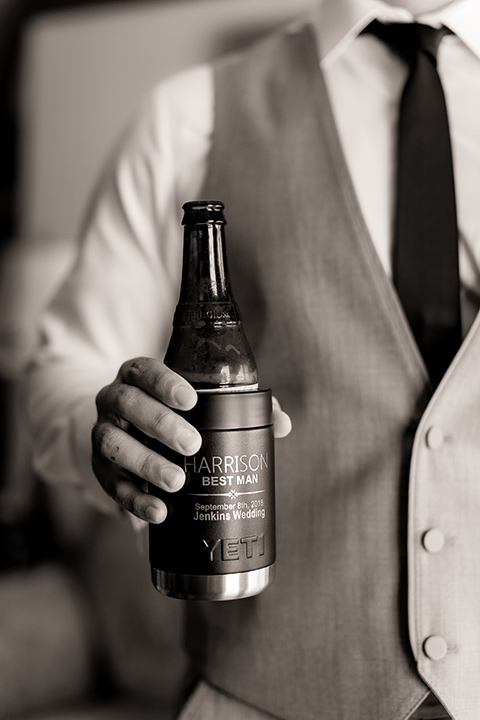 Arroyo-Grande-Wedding-best-man-beer-koozie