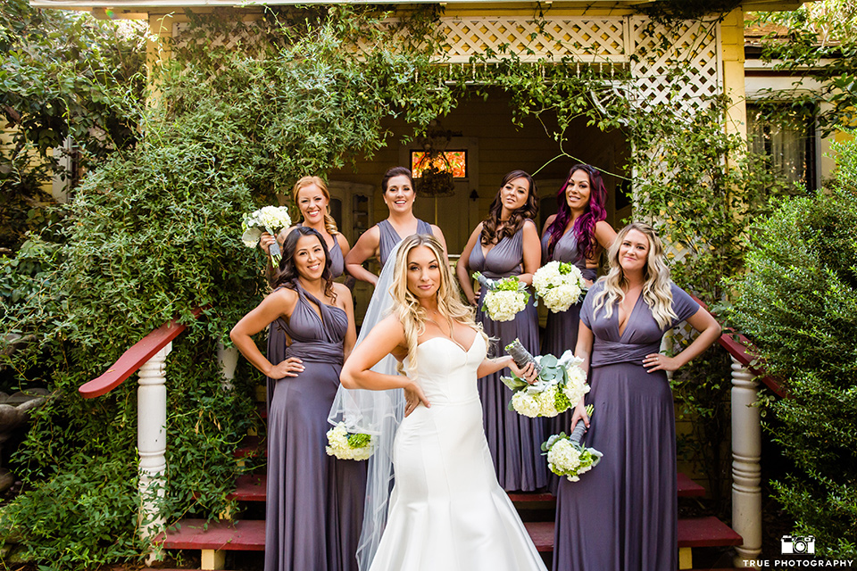 twin-oaks-weddings-bridesmaids-in-long-purple-gowns