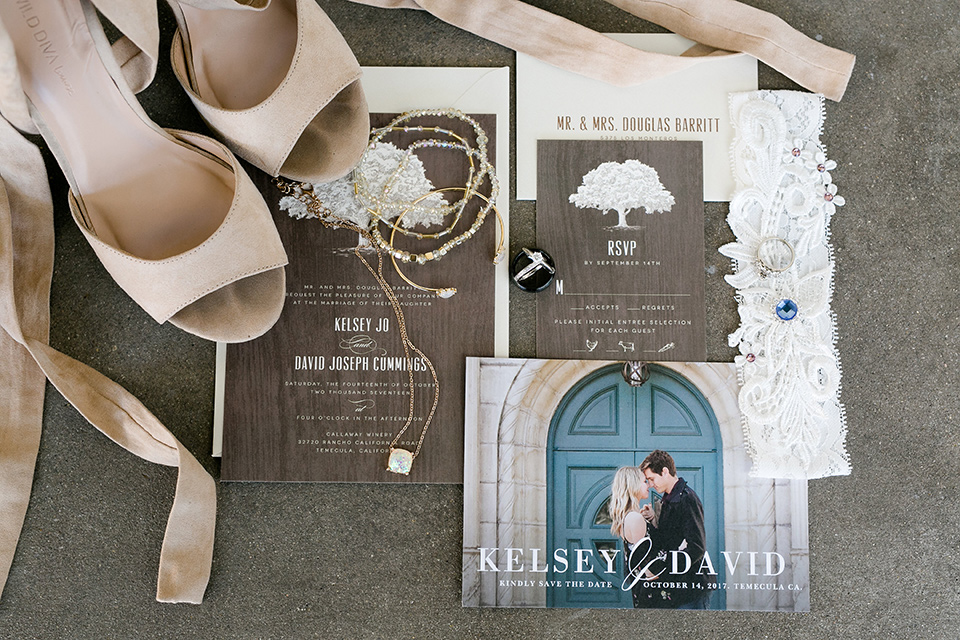 callaway-winery-wedding-invitations-and-shoes