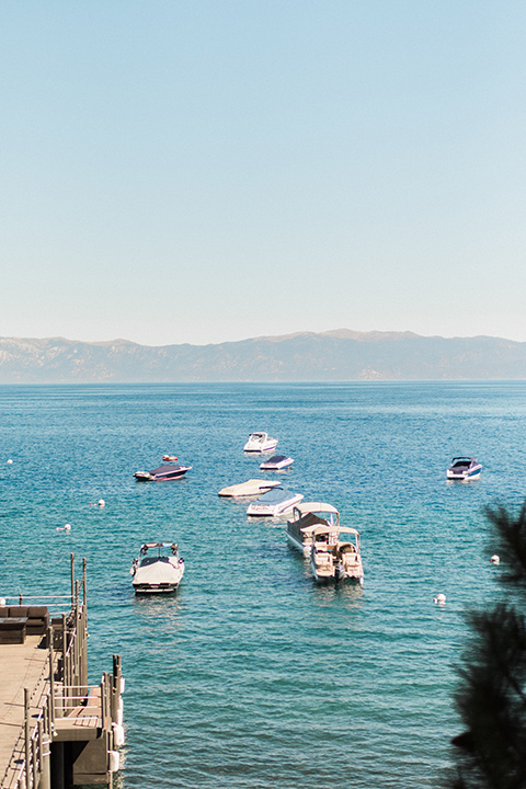 Lake Tahoe Wedding Lake Views