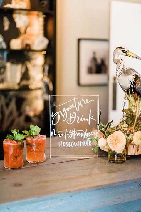 malibu-lodge-spring-wedding-shoot-calligraphy-menu