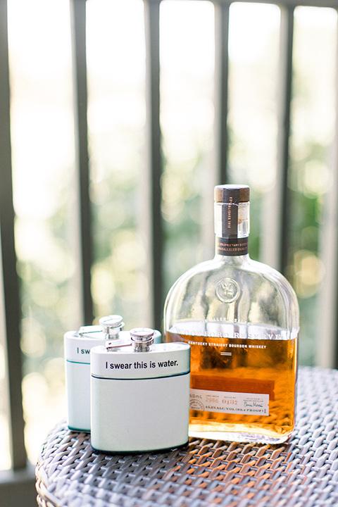 Temecula-Creek-Inn-Wedding-wiskey-and-flask