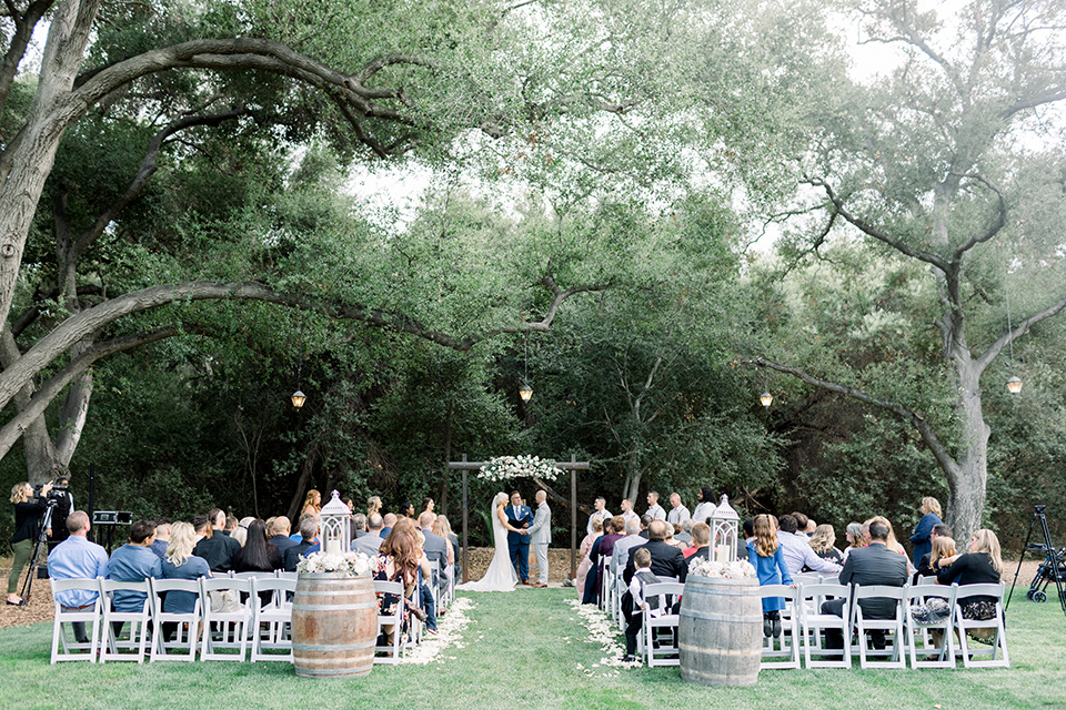 Temecula creek inn wedding ceremony