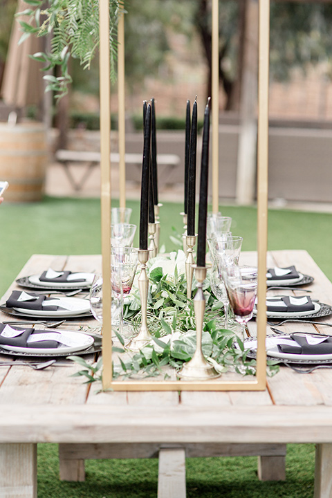 Oak-Meadows-Shoot-table-decor-and-design-with-a-wooden-natural-style-table-with-white-and-black-décor