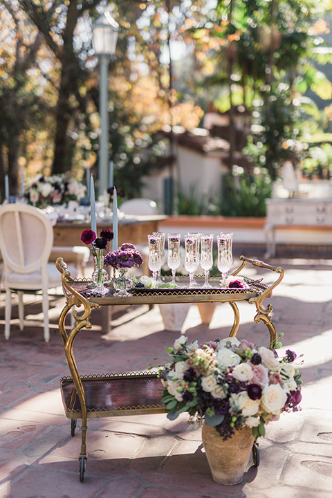 rancho-las-lomas-wedding-bar-cart