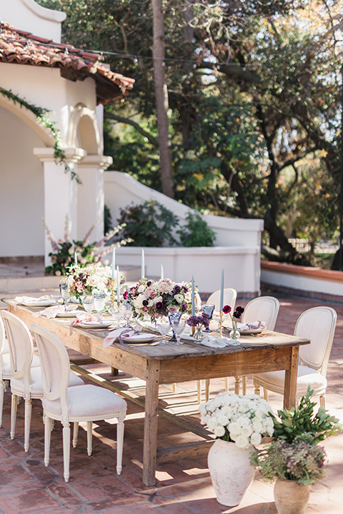 rancho-las-lomas-wedding-table-set-up