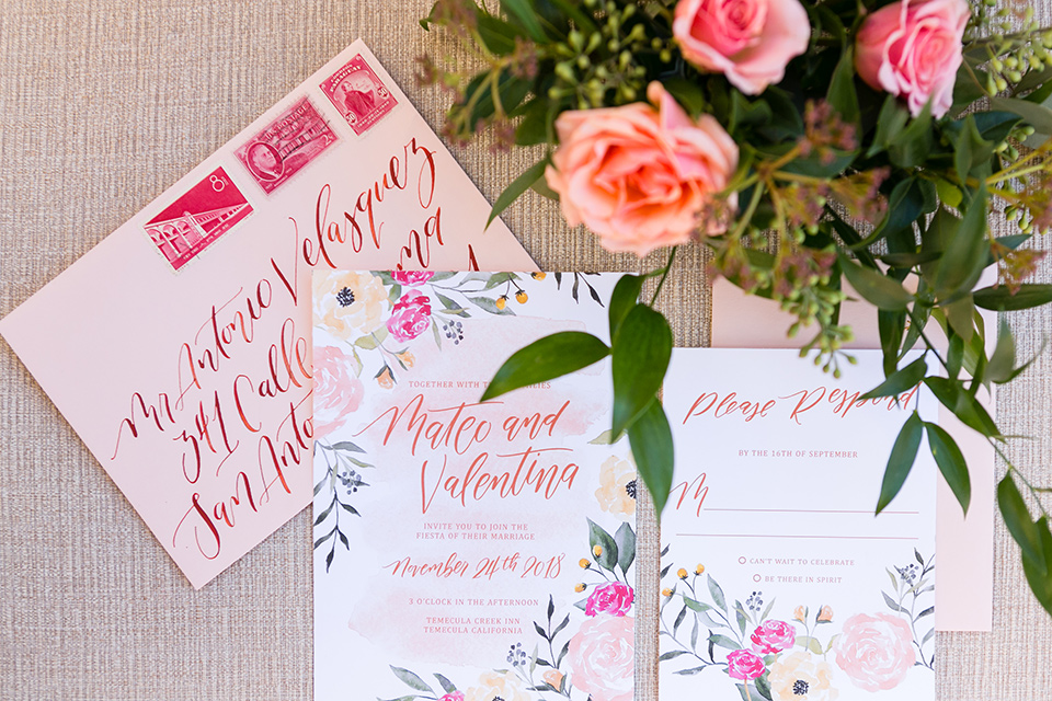 Vellano-Country-Club-invitations-in-pink-with-floral-stamps