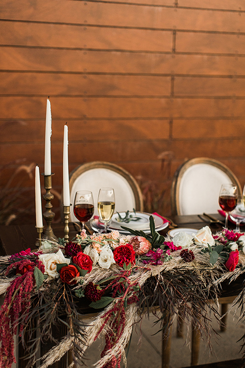 Temecula-outdoor-wedding-at-callaway-winery-table-set-up-sweetheart-table-with-flowers