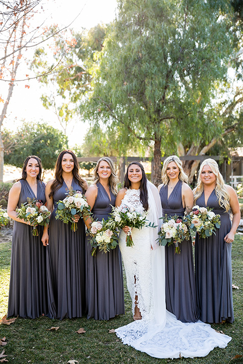 gallway-downs-wedding-bridesmaids-in-mauve-purple-dresses