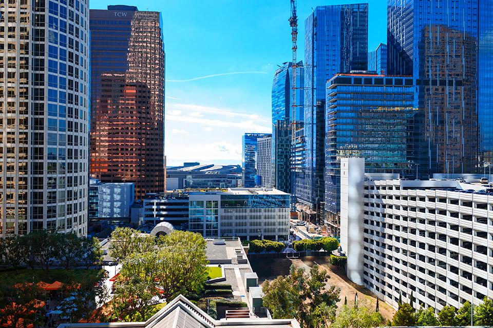 Intercontinental-DTLA-shoot-city-view