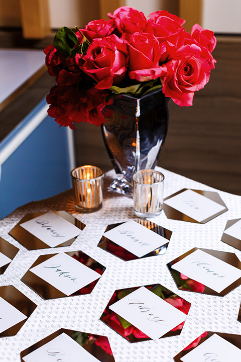 Intercontinental-DTLA-shoot-floral-décor-with-red-roses