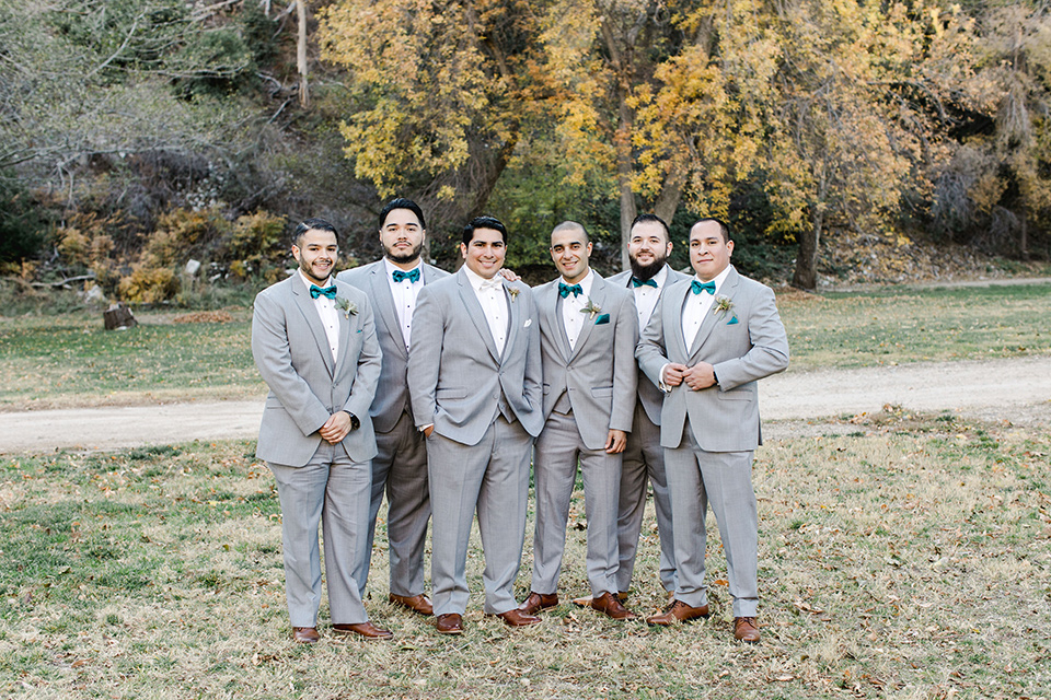 hidden-acres-wedding-groomsmen-all-in-light-grey-suits