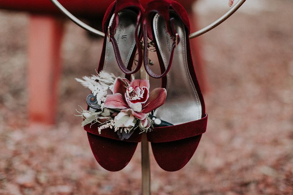 orange-county-vow-velvet-burgundy-bridal-shoes