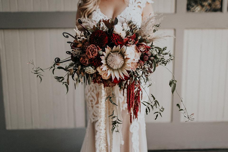 orange-county-vow-renewal-bride-holding-florals