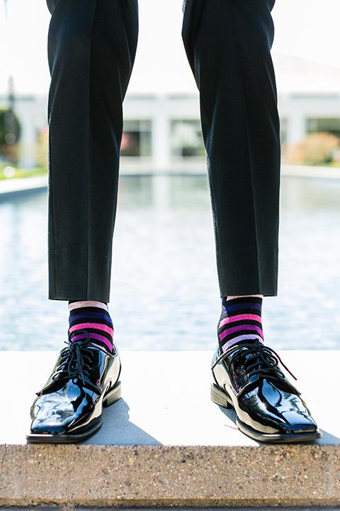 prom-looks-fun-stripe-socks