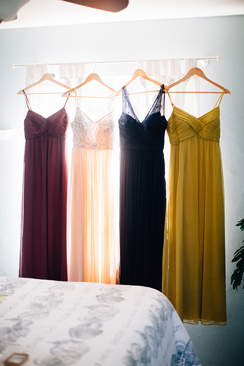 Dos-pueblos-orchid-farm-wedding-multicolored-bridesmaids-dresses