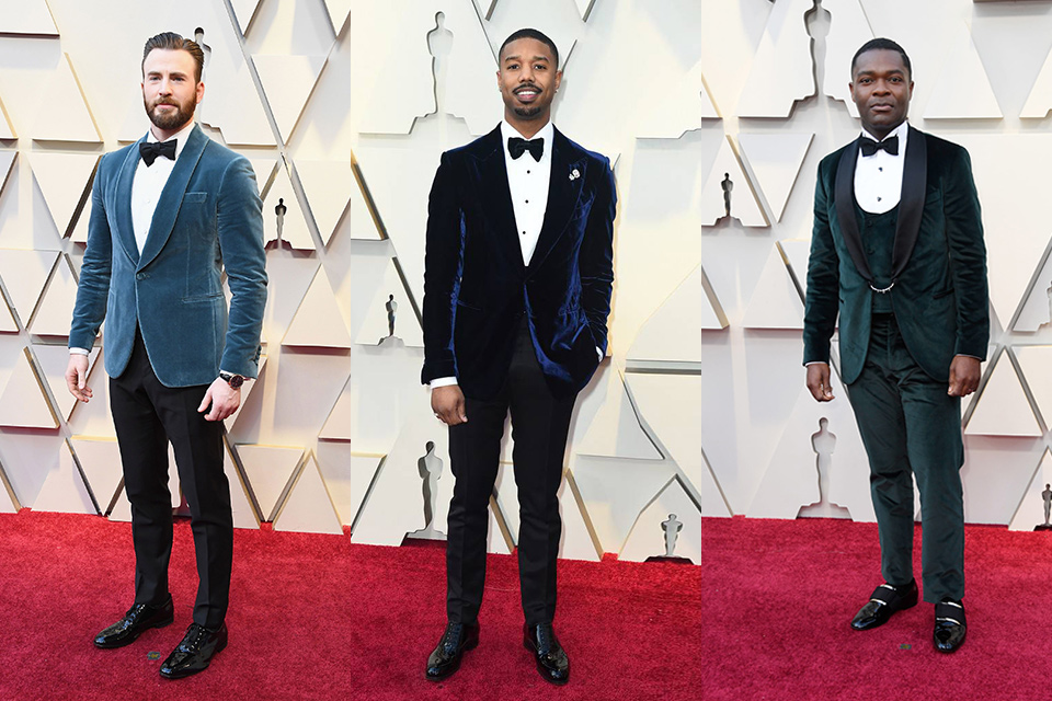 blue-velvet-tuxedos-worn-by-chris-evans-michael-b-jordan-and-david-oyelowo
