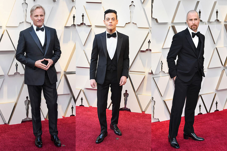classic-tuxedos-worn-by-viggo-mortensen-rami-malek-and-sam-rockwell