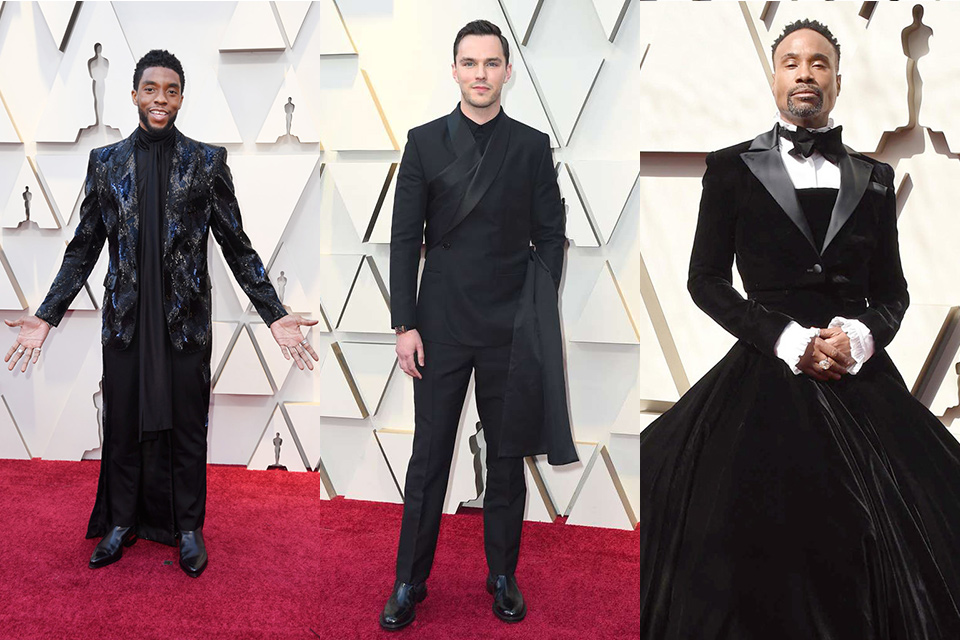 regal-themed-attire-worn-by-chadwick-bosen-nicholas-hoult-and-billy-porter