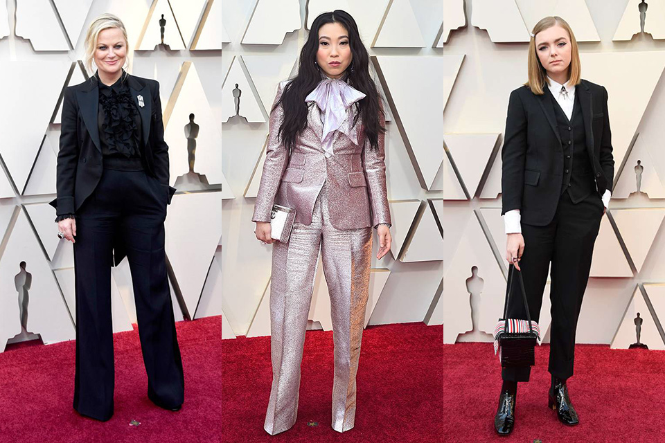 women-at-the-oscars-wearing-tuxedos-amy-pholer-awkafina-and-elsie-fisher