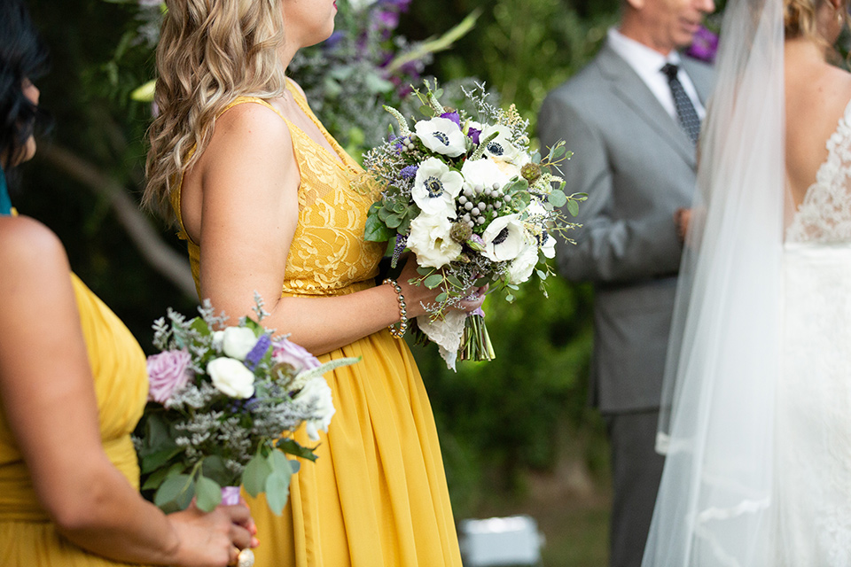 Palm-Springs-wedding-close-up-of-bridesmaids-in-yellow-dresses