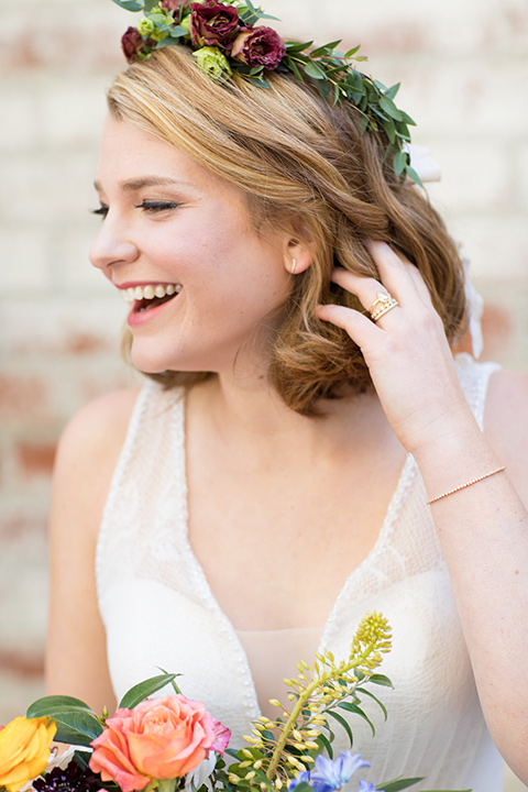 palos-verdes-shoot-close-up-on-bridal-crown-bride-wearing-a-flowing-gown-with-straps-and-a-illusion-v-neck