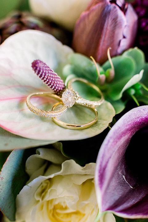 rings in flowers