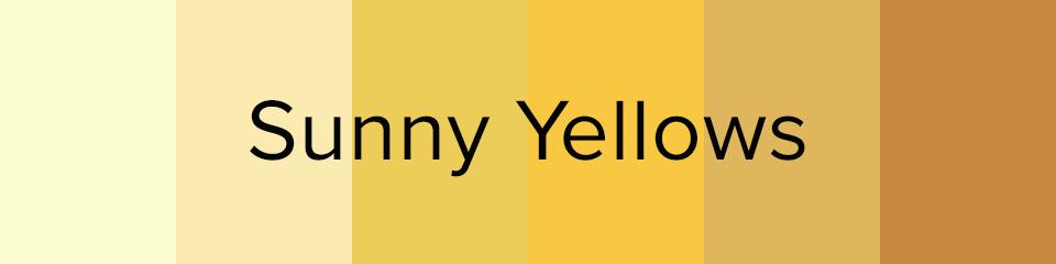yellow bridesmaids dress colors