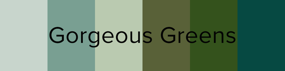 green bridesmaids dress colors