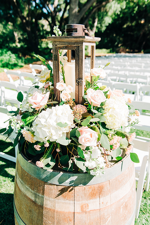ceremony space and decor