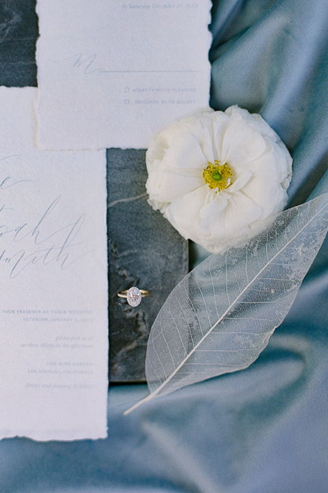 navy and white wedding invitaions